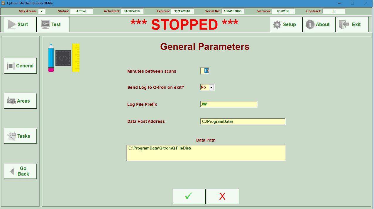Barcode PrintingGeneral Parameters